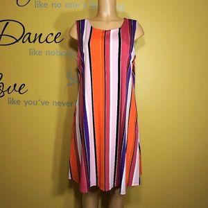NINE WEST Peplum Dress Size 14